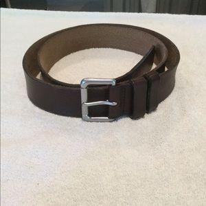 Polo Ralph Lauren men's brown belt